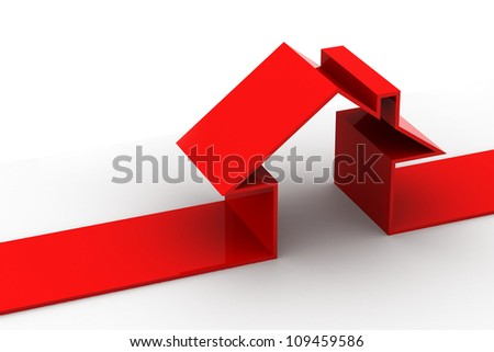 House symbol - stock photo