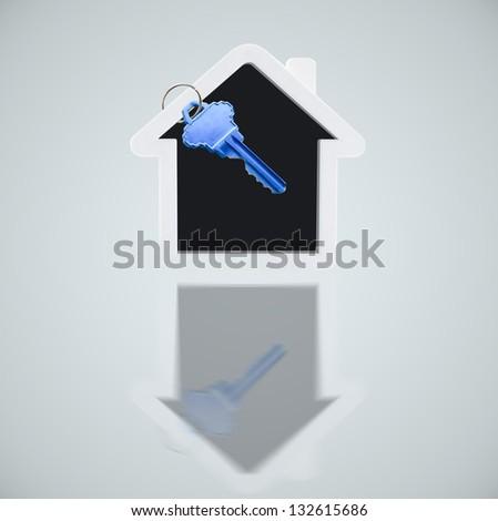 House with keys - stock photo