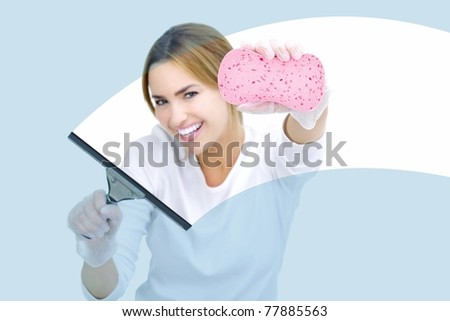 housekeeping - stock photo