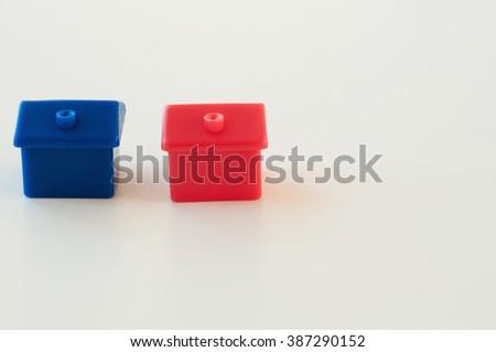 Houses - stock photo