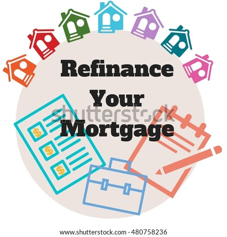 houses icon: Refinance Your Mortgage