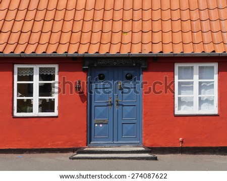 houses in �ra¸ska¸bing, denmark