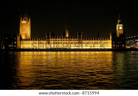 Houses of parliament westminster. London, UK - stock photo