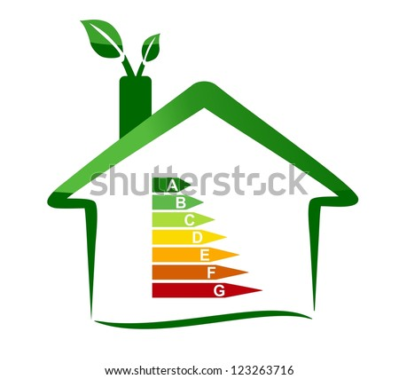 Housing energy efficiency - stock photo