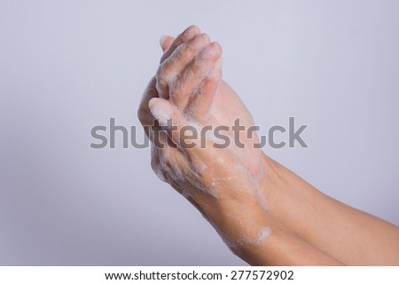 How to clean your hands.
