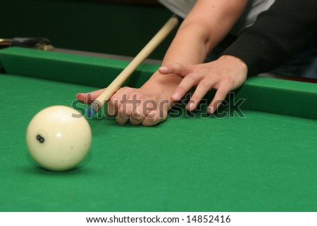 How Play Billiard Stock Photo Royalty Free Shutterstock - How to play pool table