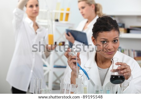 How will it react? - stock photo