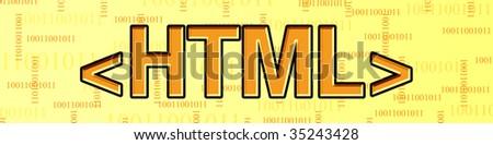html - stock photo