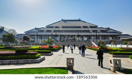 Hubei Provincial Museum - Wuhan, Hubei, China - stock photo
