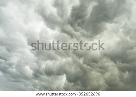 Huge storm cloudscape background