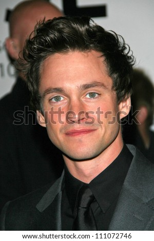 """Hugh Dancy at the premiere of """"The Jane Austen Book Club"""". Arclight Hollywood, Hollywood, CA. 09-20-07 - stock photo"""