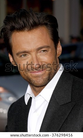 "Hugh Jackman at the Los Angeles Premiere of ""X-Men Origins: Wolverine"" held at the Grauman's Chinese Theatre in Hollywood, USA on April 28, 2009."