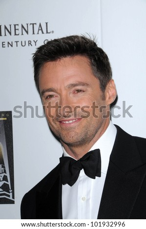 "Hugh Jackman  at the 5th Annual ""A Fine Romance"" Benefit Gala, 20th Century Fox Studios, Los Angeles, CA. 05-01-10 - stock photo"