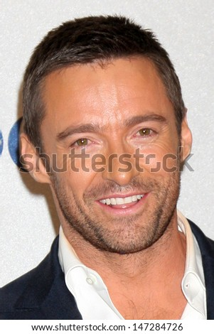 Hugh Jackman in the Press Room at the 2010 People's Choice Awards Nokia Theater January 6, 2010 - stock photo
