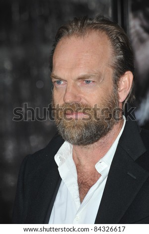 "Hugo Weaving at the US premiere of his new movie ""Wolfman"" at the Arclight Theatre, Hollywood. February 9, 2010  Los Angeles, CA Picture: Paul Smith / Featureflash"