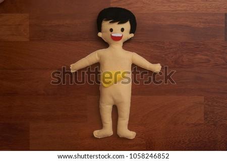 Human Body Anatomy Doll Liver On Stock Photo Edit Now 1058246852