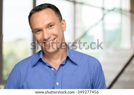 Human Face. - stock photo