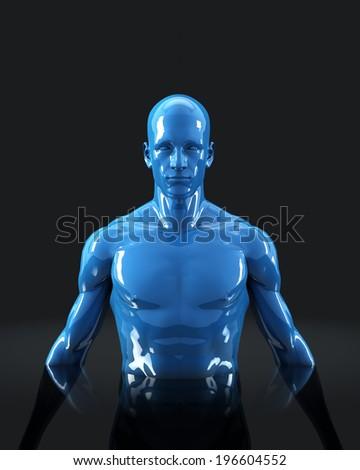 Human Nature Mannequin - stock photo