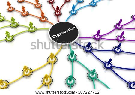 Human organization connection chart bubble diagram stock human organization connection chart bubble diagram 3d render ccuart Images