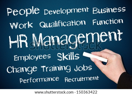 Human Resources Management - stock photo