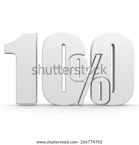 Hundred percent white image with hi-res rendered artwork that could be used for any graphic design. - stock photo