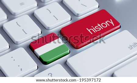 Hungary High Resolution History Concept - stock photo