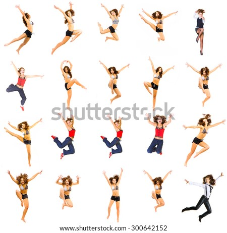 Hurray to Athlets Active Concept  - stock photo