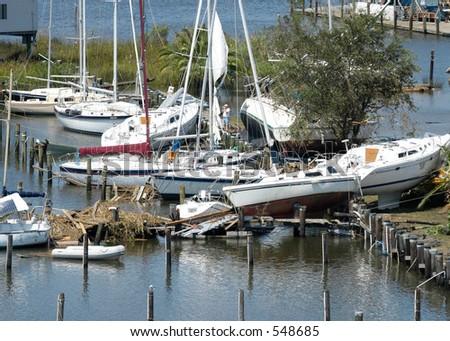 Hurricane Katrina 33 - stock photo
