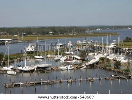 Hurricane Katrina 31 - stock photo