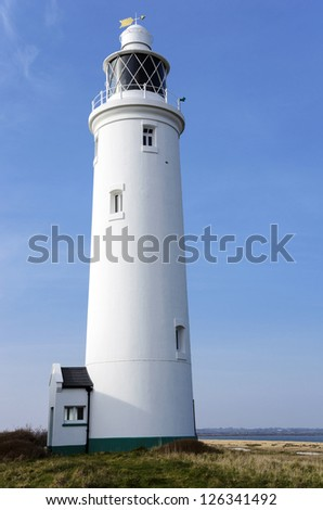 Hurst Point Lighthouse - stock photo