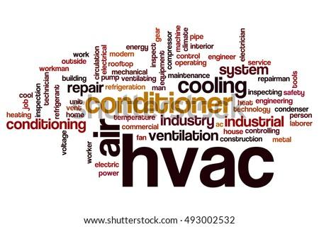 HVAC Word Cloud Concept Stockillustration 493002532 – Shutterstock