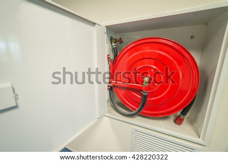 hydrant in an office building - stock photo