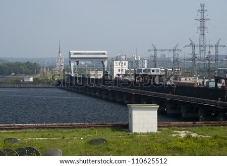 Hydroelectric pumped storage river in Perm