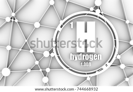 Hydrogen chemical element sign atomic number stock illustration hydrogen chemical element sign with atomic number and atomic weight chemical element of periodic urtaz Gallery