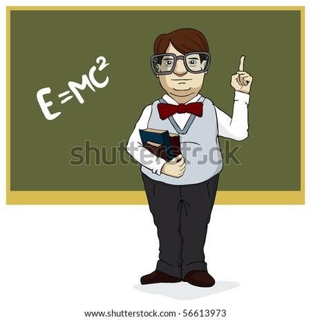 I am so smart! - stock photo
