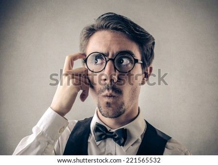 I can't remember  - stock photo