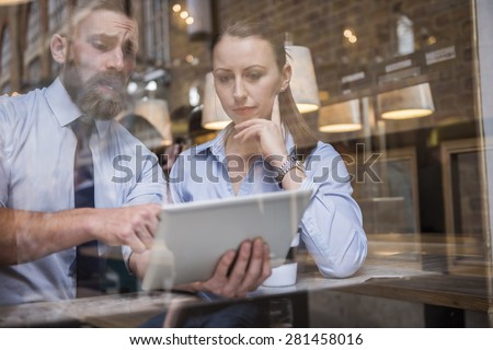I don't know way but our results are falling down - stock photo