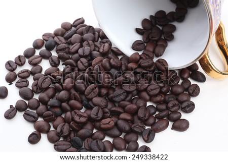 I love coffee - stock photo