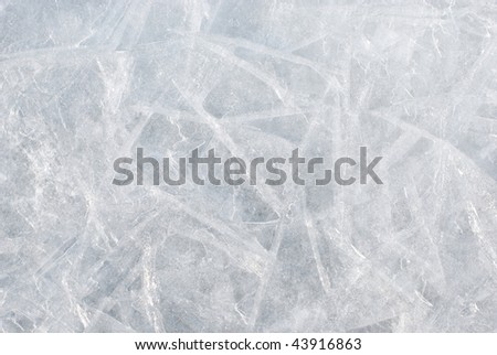 Ice background - stock photo