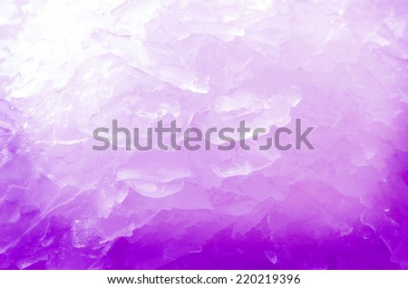 Ice  background close up view - stock photo