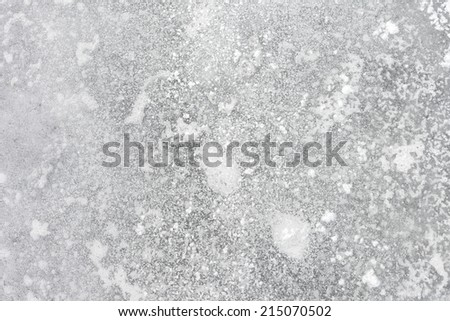 Ice Background. Ice From Top Of - stock photo