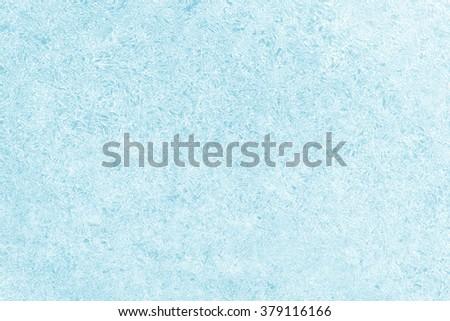 ice background texture blue - stock photo