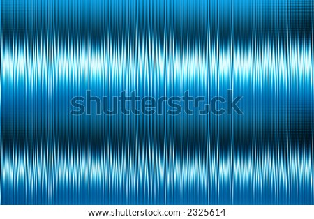 Ice blue signal waves