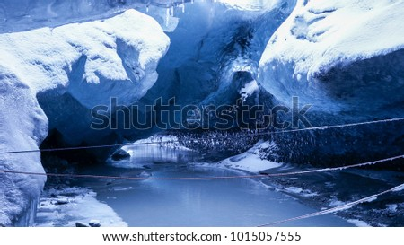 stock-photo-ice-cave-in-iceland-10150575