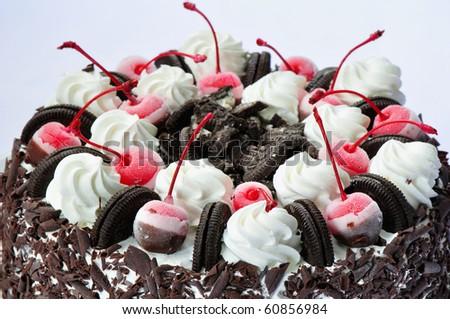 Ice Cream Cake - stock photo