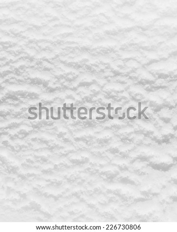 Ice Cream: Surface of yogurt ice cream in the packaging - stock photo