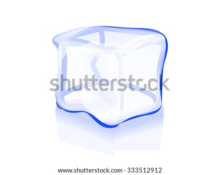 ice cube icon symbol illustration