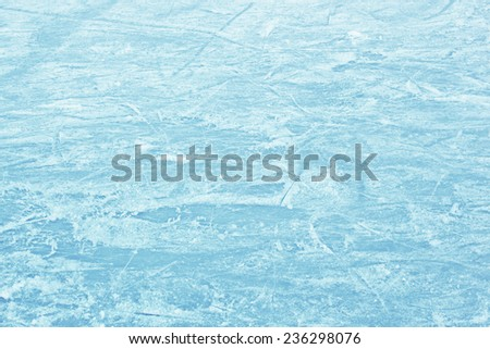 Ice field - stock photo
