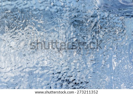 Ice For Background Use - stock photo