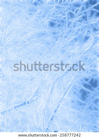 ice glass blue background